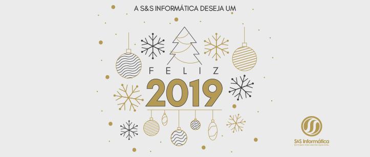 Feliz 2019 – S&S Informática