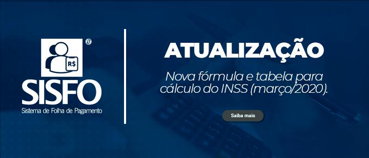 [Atualização] Nova fórmula e tabela de cálculo do INSS (março/2020).