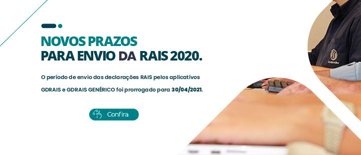Prazo da RAIS ano base 2020 prorrogado para 30/04.