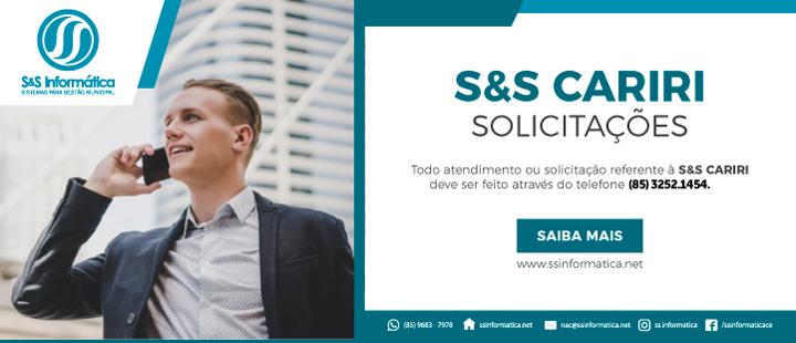 S&S CARIRI – Solicitações
