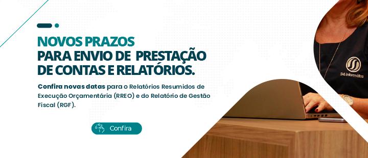 Prorrogação de prazos para o envio das prestações de contas e relatórios ao TCE Ceará.